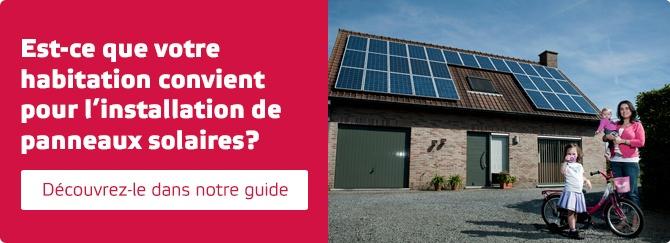 Guide panneaux solaires
