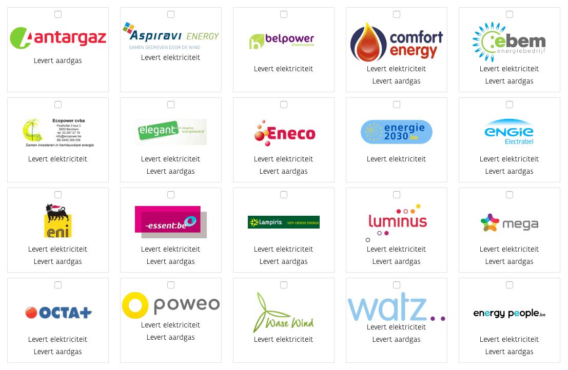 energieleveranciers belgië