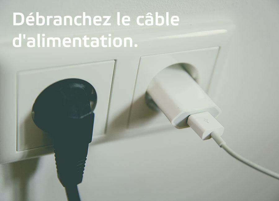 part de consommation d'énergie des appareils en veille