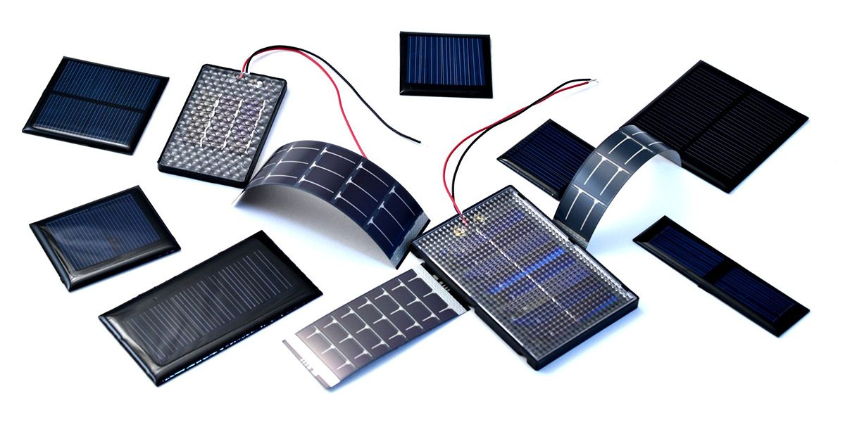 Kleine zonnepanelen