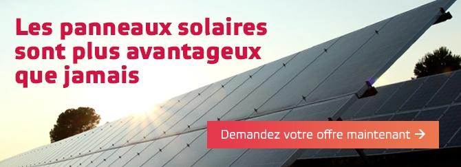 offre panneaux solaires