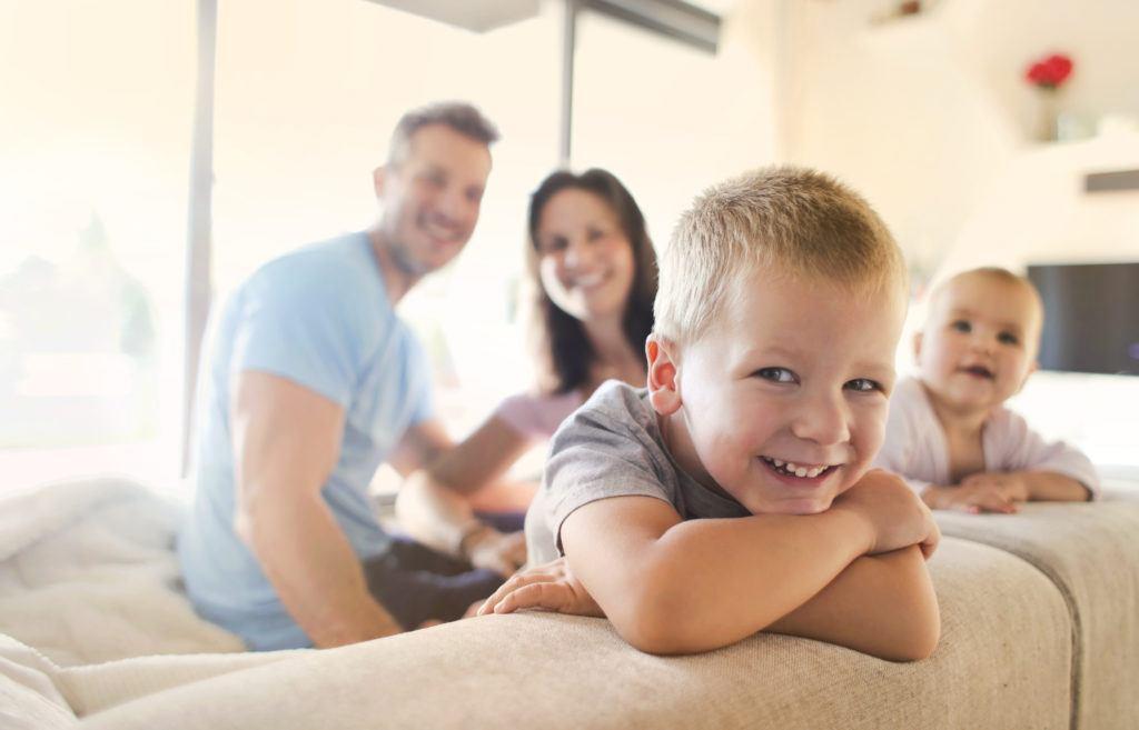 zonnepanelen per gezin